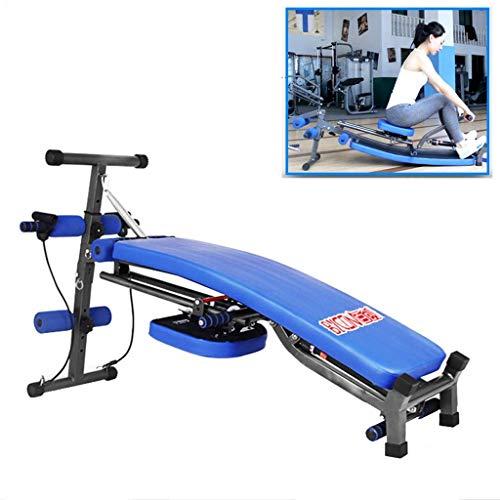 AJZGF Hantelbank Klappsitzbank Fitnesstraining Praxis Kippen Bauchstraffung Körperübungssystem Rudern Bauch Maschine trainingsbank