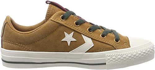 Converse Herren Star Player Sneaker, Braun (Burnt Caramel/Egret 241), 44.5 EU
