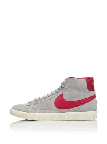Nike Sneaker Blazer Mid Prm Suede Grigio/Fucsia EU 43 (US 9.5)