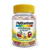 Multicentrum Vitagummy Integratore alimentare per Bambini multivitaminico completo, Vitamine D, A-Z, gusto vari frutti, 30 caramelle gommose