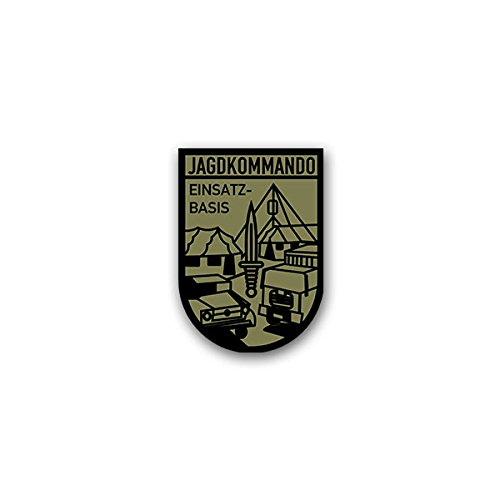 Copytec Aufkleber/Sticker -Jagdkommando JaKdo Einsatzbasis Spezialeinheit Wiener Neustadt Bundesheer Österreich Militär ÖBH 2010 Wappen Abzeichen Emblem 5x7cm #A2271