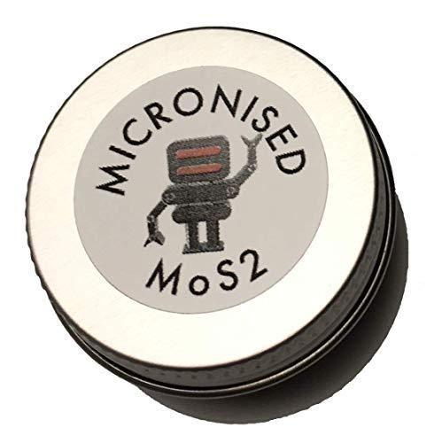 Hagen Automation Micronised MoS2 - Moly - Molybdenum Disulphide Poeder - hogedruk glijmiddel voor lagers, motor rebuilds, robots, 3D-printers, fietsen etc 10ML