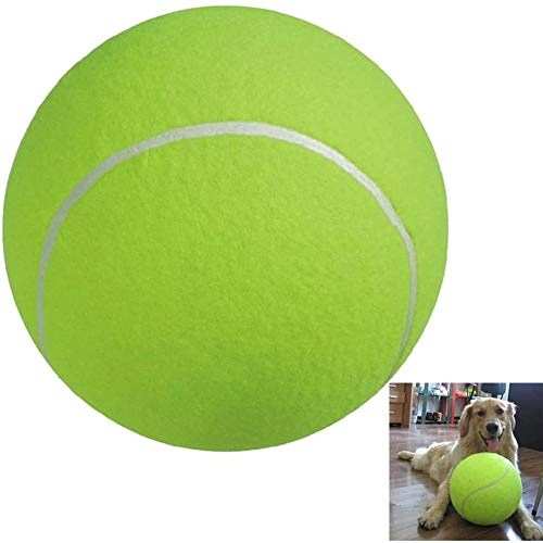 Cestbon Pet Balls Tennis Balls Hundespielzeug, Spielzeug Für Haustier Training Tennisball Pet Toy Mega Jumbo Hunde Spielen Supplies Fun Outdoor Sports Beach,Grün