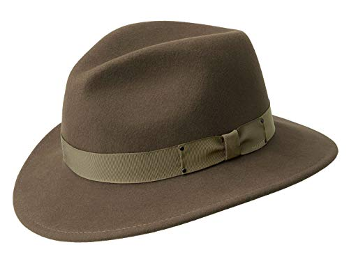 Bailey Homme Chapeau Traveller Curtis marron L/58-59