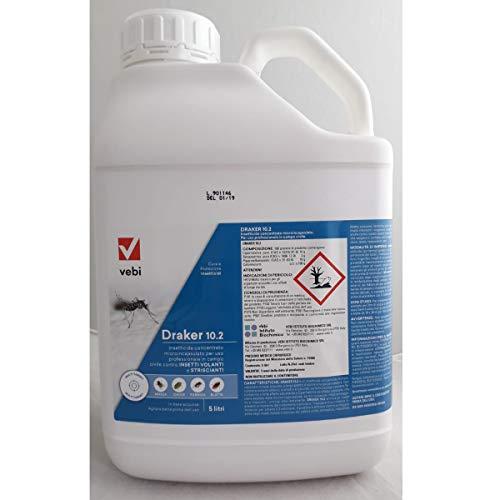 VEBI DRAKER 10.2 insetticida concentrato tanica da 5 Litri