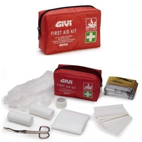 Givi S301 Kit complet d'assistance de secours pour voiture conforme à la norme DIN 13167 First Air Kit
