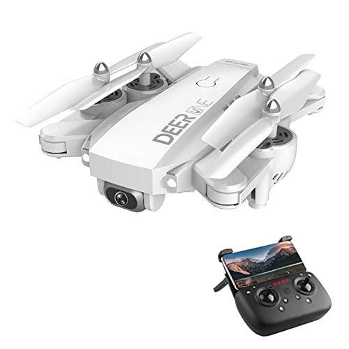 ZUOQUAN Droni con La Telecamera, 5G Stabilizzazione Immagine Professionale 4K HD Droni, Telecamera Grandangolare 4K A 120 ° Regolabile, GPS Intelligente Follow, Surround A Punto Fisso,Bianca