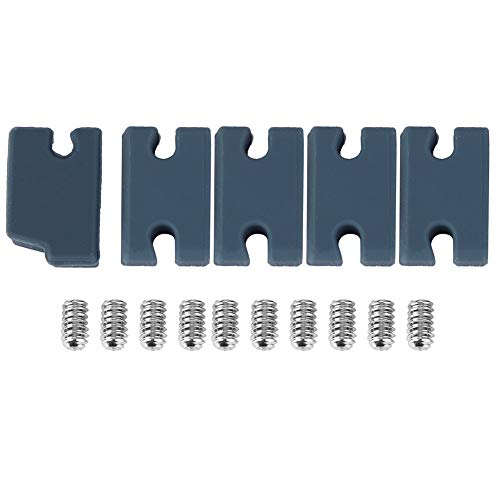 Emoshayoga Kit de compatibilidad con Aletas de Desgaste PVC sólido para Tabla de Surf