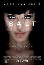 Salt Movie Poster (27 x 40 Inches - 69cm x 102cm) (2010) Style C -(Angelina Jolie)(Liev Schreiber)(Chiwetel Ejiofor)(Yara Shahidi)(Gaius Charles)