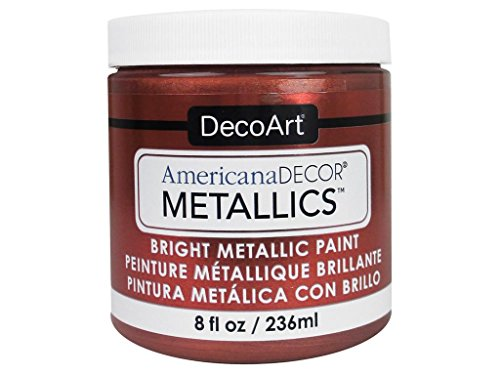 DecoArt Ameri Deco MTLC Americana Decor Metallics 8oz Copper