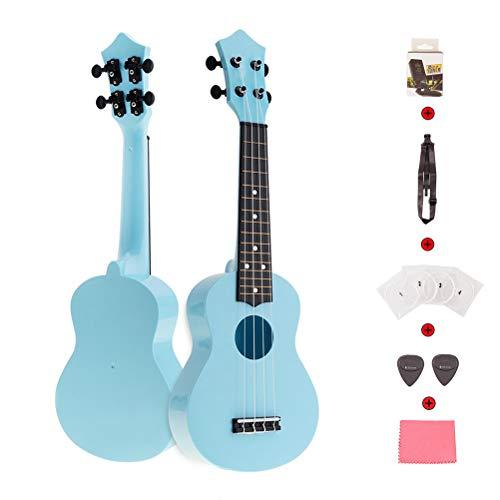 DEAR-JY Ukulele Gitarre, 21 Zoll Bunte Akustische Ukulele 4-Saitige Gitarre Musik Kinder Und Musik Anfänger Musikinstrument