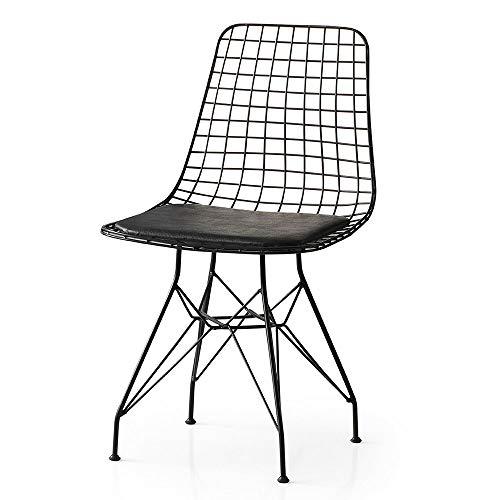 Vintage Iron Stuhl Esszimmerstuhl Gastrostuhl