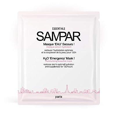 Sampar H2O 'Emergency' Mask! Moisturizing Essence Face Sheet Mask with Resveratrol and Niacinamide - All Skin Types - Set Of 3 from Sampar