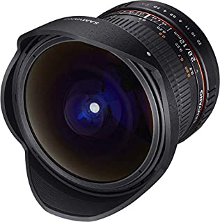 Samyang 12/2,8 Objektiv Fisheye DSLR Nikon F AE manueller Fokus automatischer Blendenring Fotoobjektiv, Superweitwinkel schwarz (B00TS9BI5U) | Amazon price tracker / tracking, Amazon price history charts, Amazon price watches, Amazon price drop alerts