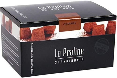 Schokotrüffel mit Kakaosplitter | La Praline