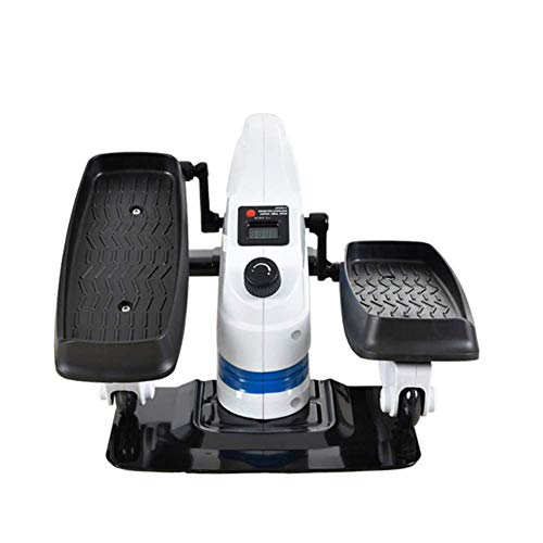 WLGQ Mini máquina elíptica silenciosa Moda Fitness Oficina en casa Familia Stepper Space Walking Pedal Mini Home Fitness Stepping Twisting Machine