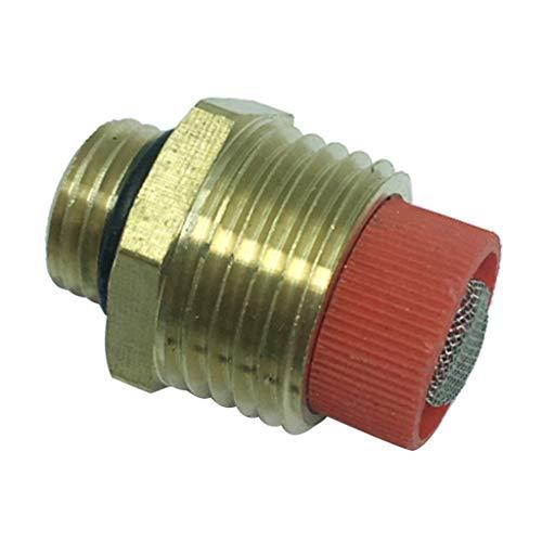 non-brand - Adaptador de conexión de latón con Conector de Aceite y Agua con Rosca Macho con Filtro de 1/2'
