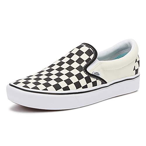 Vans ComfyCush Slip-On Schuhe (Classic), Black Checkerboard, 44.5 EU