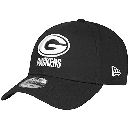 New Era 9Forty Adjustable NFL Cap - Black Green Bay Packers