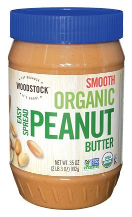 famous Organic Smooth Peanut Butter 35 Ounces 12 Case Award of