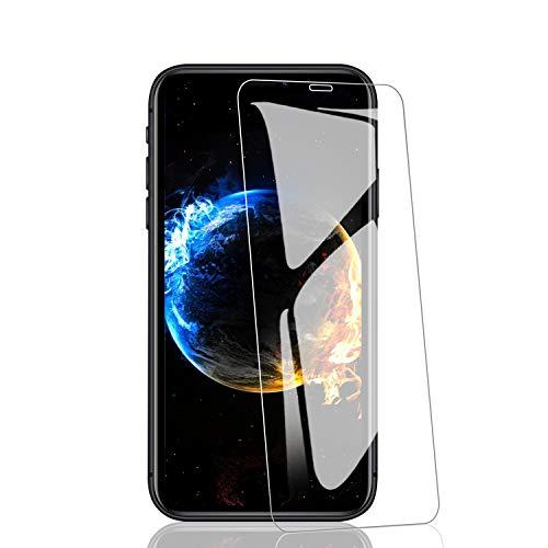 RIIMUHIR Displayschutzfolie für iPhone 11/XR, Härtegrad 9H, blasenfrei, hohe Klarheit, gehärtetes Glas für iPhone 11/XR, hohe Empfindlichkeit, 3 Stück