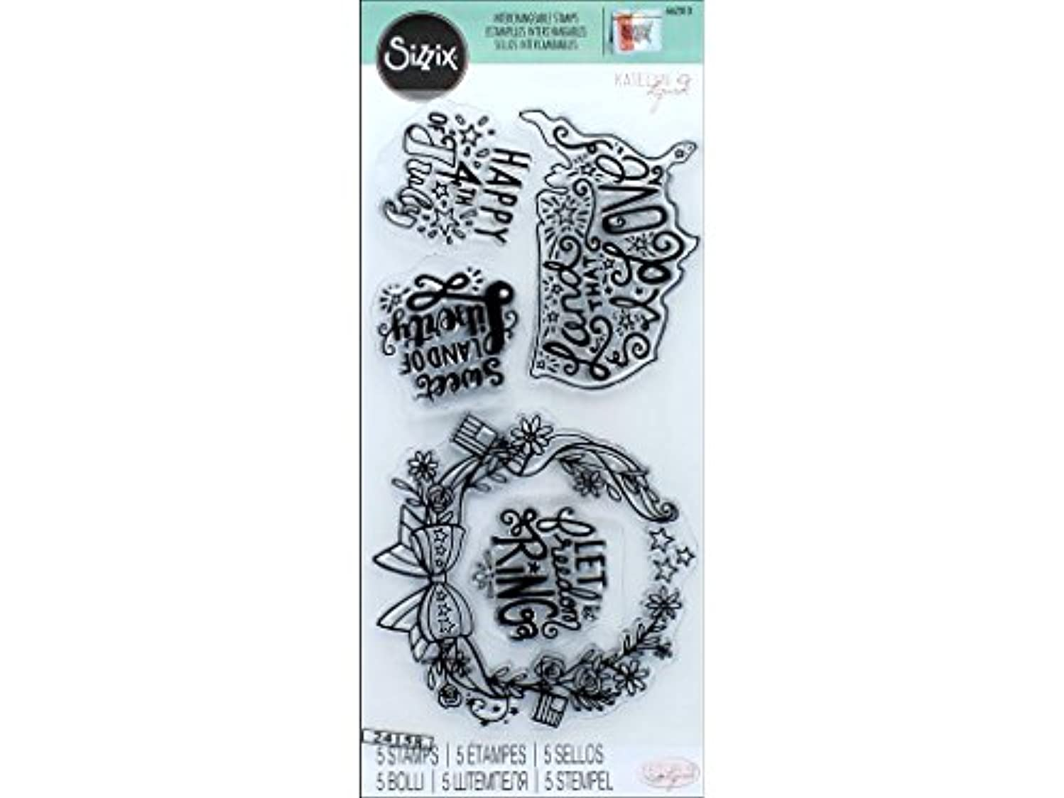 Sizzix Interchangeable Clear Stamps - 662010 Land That I Love