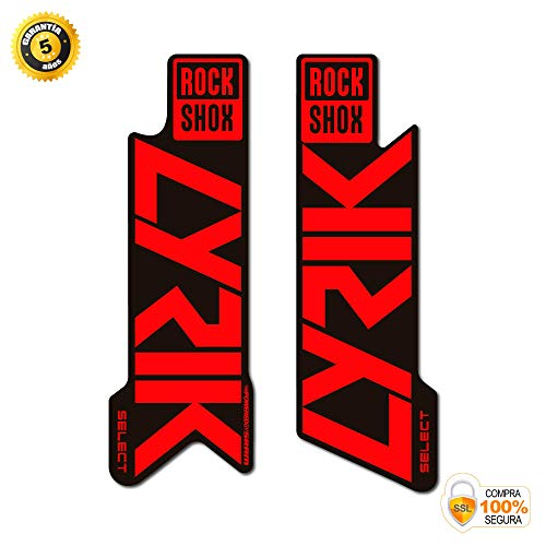 PEGATINAS HORQUILLA ROCKSHOX LYRIK SELECT 2021 WP367 AUFKLEBER STICKERS