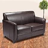 GGAA Sofa Couch Sofa Sofa Bed Flash Furniture Hercules Diplomat Series Gray LeatherSoft Sofa (Color : 13, Style : Loveseat)