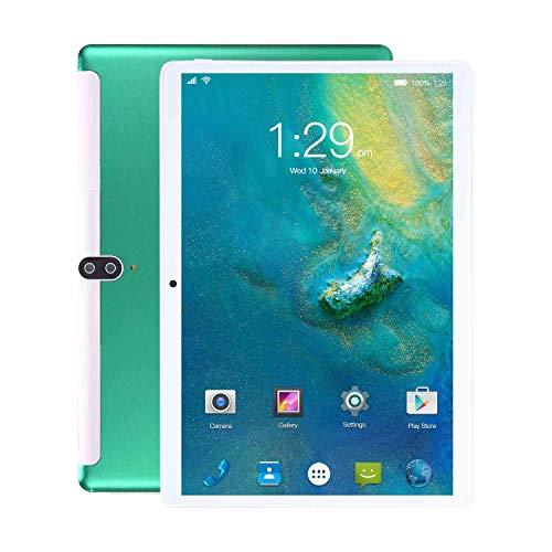 Tableta de 10 Pulgadas, Tableta de Llamada telefónica 3G y WiFi, 8 GB de RAM + 128 GB de ROM con procesador de Cuatro núcleos - Dual SIM | 8800mAh | Bluetooth | GPS | Cámara de 8 + 13 MP
