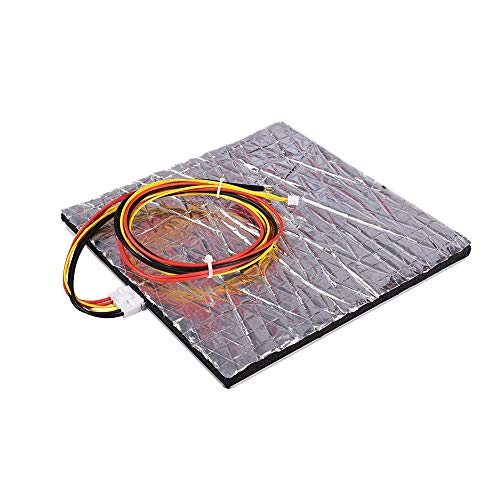 HUANRUOBAIHUO MK3 Mk2 Heated Bed 12V 220 * 220mm Aluminium Plate Heatbed PCB Accessories For Reprap Mendel HotBed 3D Printer Parts 3D Printer Parts (Color : All kit)