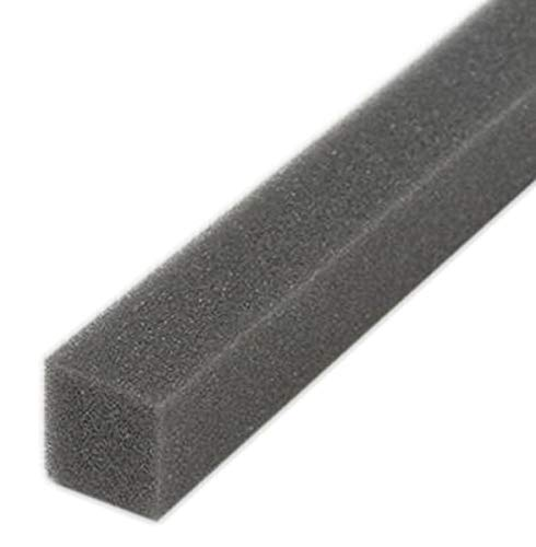 M-D Building Products 2006 M-D 0 Open-Cell Air Conditioner Weather-Strip, W X 42 in L X 1-1/4 in T, Gray