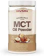 H.V.M.N. MCT Oil Powder - Keto Creamer Powder, for Keto Coffee Creamer, Keto Shake - Pure C8 MCT Oil from Acacia Fiber Powder, MCT Oil Keto Diet Powder - 25 Servings (Hazelnut)