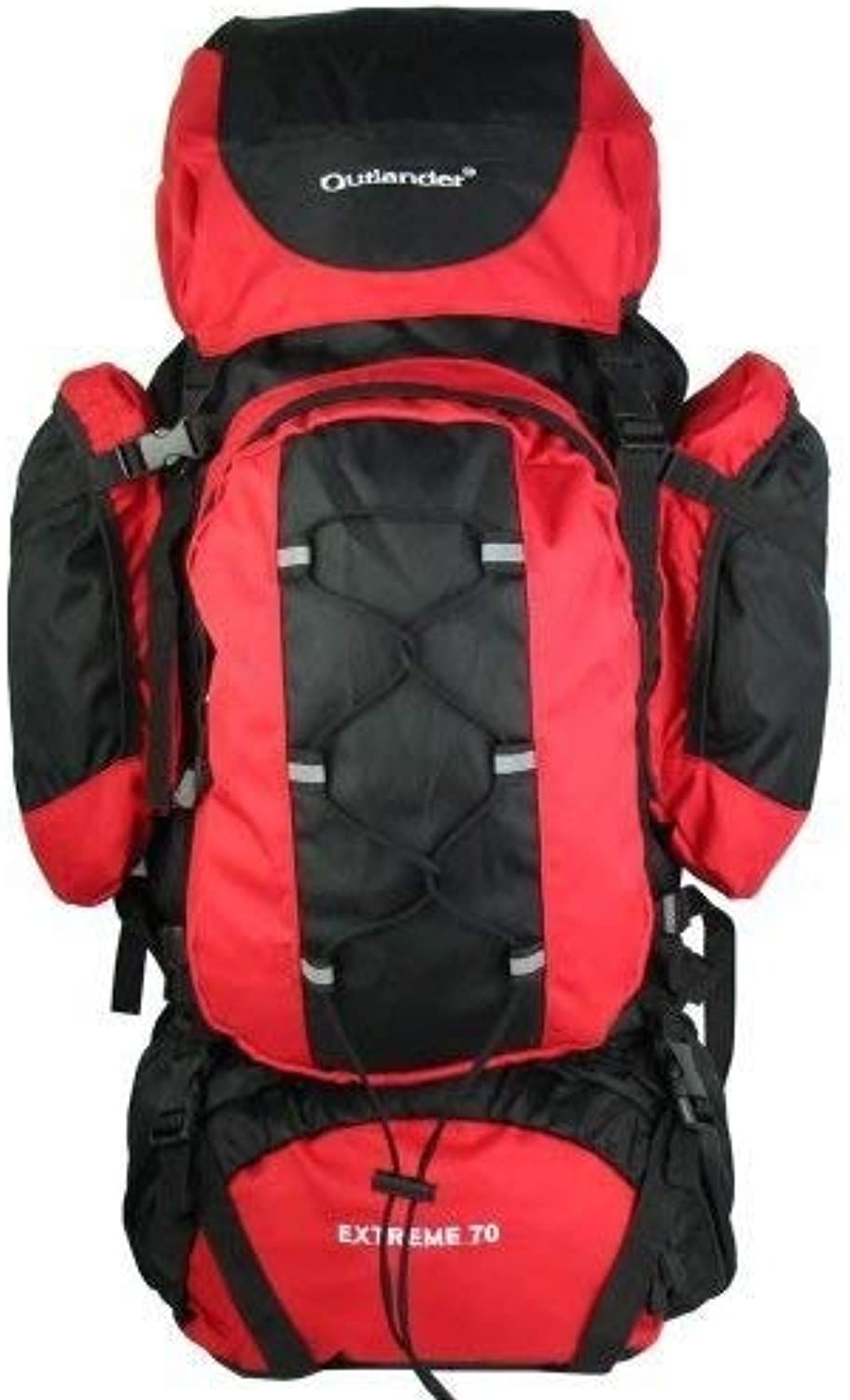 Camping Supplies Boarding Backpack Outdoor Sports Camping Bag Mountaineering Bag Large Capacity 70L Professional Travel Hiking Backpack Large Capacity