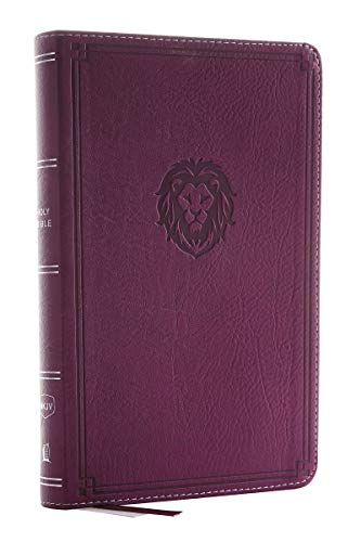 NKJV, Thinline Bible Youth Edition, Leathersoft, Burgundy, Red Letter...