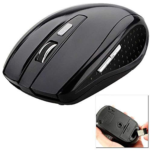 OcioDual Ratón Óptico Inalámbrico 1600 dpi Sin Cable Receptor USB Wireless Mouse...
