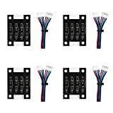 Usongshine TL Smoother Addon Module for Pattern Elimination Motor Clipping Filter for 3D Printer Step Motor Driver Controller (Pack of 4)