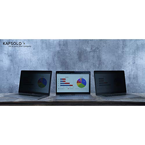 KAPSOLO 2-Wege Plug In Blickschutzfilter für Fujitsu Lifebook S935