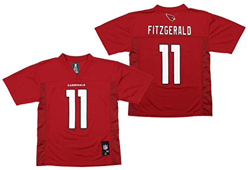Outerstuff Youth NFL Mid-Tier Player Jersey, Arizona Cardinals Larry Fitzgerald X-Large (18)