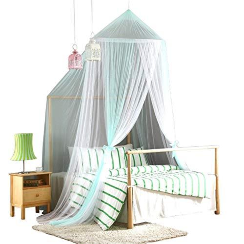ZHAO ZHANQIANG Netz-Garn-Bett Kostenfreies Installations Dome Moskitonetz,Keine Hautreizung Natürlicher Mückenschutz Bett Und EIN Schlafzimmer Dekoration (Color : Green, Size : M)