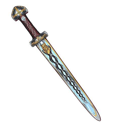 Liontouch 50000LT Mittelalter Wikinger Schwert, Rot | Spielzeug aus Schaumstoff für Kinder