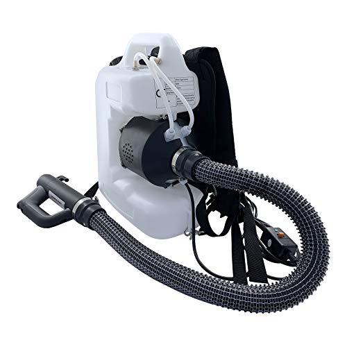 BITOWAT 12L Máquina de nebulización eléctrica portátil ULV 470 ml/min Volumen pulverización Mochila Pulverizador Niebla Tamaño partícula Ajustable 5~100um para hoteles, centros comerciales