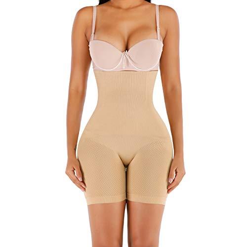 SHASUSU Shapewear for Women Tummy Control Body Shaper Waist Trainer Butt Lifter Thigh Slimmer