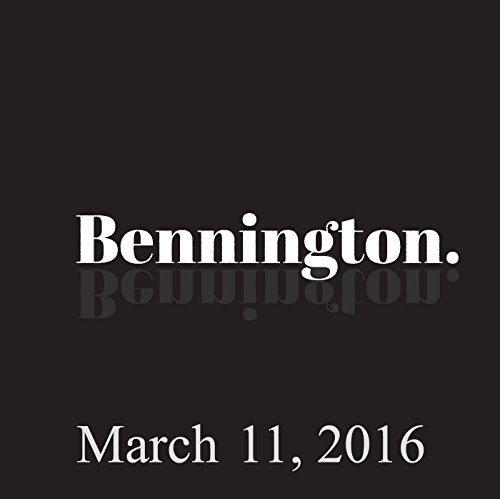 Bennington, Eddie Pepitone and Louie Anderson, March 11, 2016 cover art