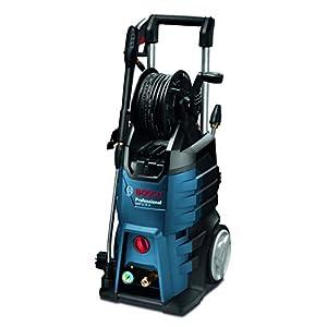 Bosch Professional GHP 5-75 X – Hidrolimpiadora de alta presión (185 Bares, 570 l/h, enrollador manguera, 2 lanzas)
