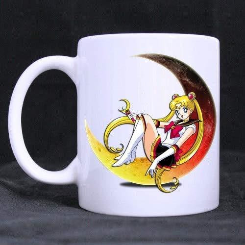 Sailor Moon Mug Porcelain Coffee Ceramic Tea Cup Cups Mug