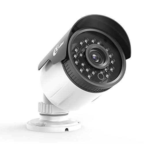 XVIM 1080P HD CCTV Camera Indoor Outdoor Weatherproof Home Security Camera 24 IR LEDs 85ft Night Vision,Aluminum Metal Housing