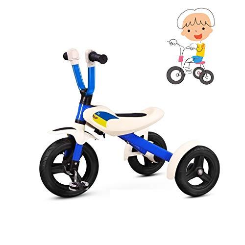 Triciclo de niños plegable triciclo juguete for montar el triciclo de niños triciclo for niños de tres ruedas triciclo manera fresca multi-funcional de los niños grandes del triciclo de diseño del ped