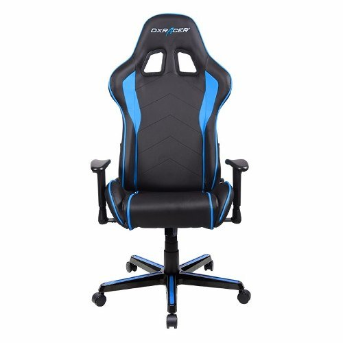 DXRacer F-Series OH/FL08/NB Negro/Azul - Silla Gaming