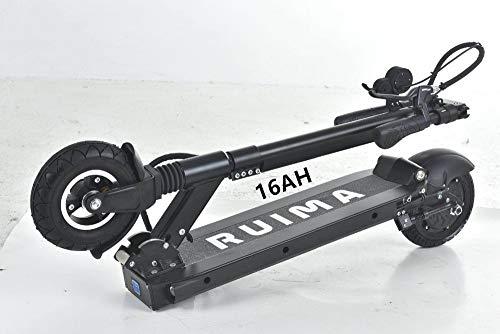 Speedhel RUIMA mini4 Pro versión impermeable BLDC HUB Scooter eléctrico de alta potencia Mini IV monopatín (batería LG 16 AH)