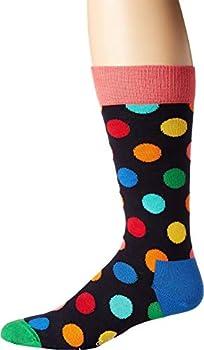 Happy Socks Big Dot Socks Bright Combo Men s Shoe Size 8-12